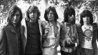 14th June 1969:  British rock band the Rolling Stones in 1969, after the death of founder member Brian Jones. They are, from left to right; drummer Charlie Watts, new member guitarist Mick Taylor, vocalist Mick Jagger, guitarist Keith Richards and bass player Bill Wyman.  (Photo by Len Trievnor/Express/Getty Images)